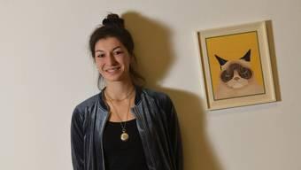 «Meine Leidenschaft für literarische Texte entwickelte sich früh»: Alisha Stöcklin in der Kunsthalle.