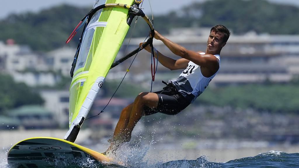 Mateo Sanz Lanz kam auch mit den stärkeren Winden gut zurecht