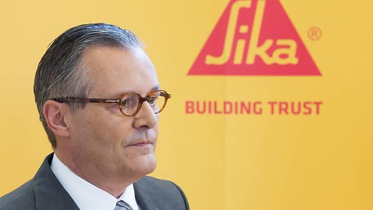 Sika-Verwaltungsratspräsident Paul Haelg wird mit dem Urteil des Zuger Kantonsgerichts vom Freitag zufrieden sein. (Archiv)