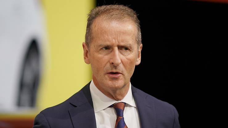 Die Staatsanwaltschaft Braunschweig hat die Führungsspitze von Volkswagen  wegen Marktmanipulation angeklagt. (Archiv)