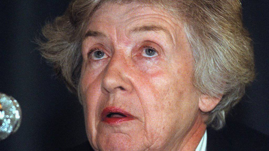 Francesca Pometta trat 1957 in die Dienste des EDA ein. (Archivbild)