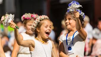 Der Umzug am Jugendfest Lenzburg 2018