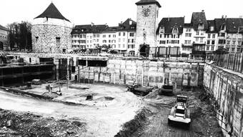 Parkhaus Bieltor in Solothurn – Blick ins Archiv