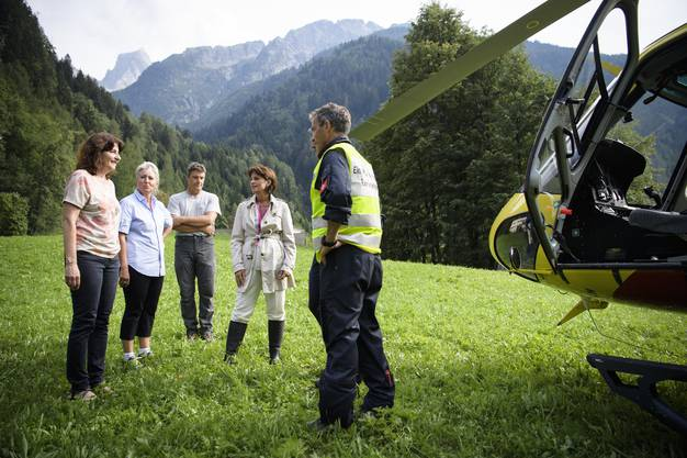 Der Felssturz in der Region um Bondo hat das Bergdorf stark betroffen.