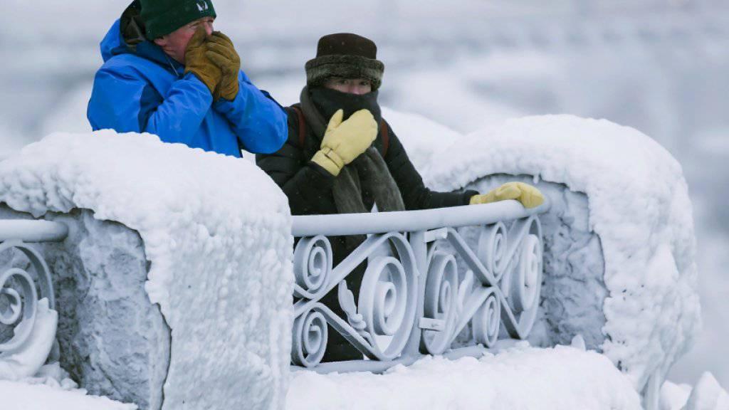 Da tut das Atmen weh: In Teilen Kanadas ist es bis zu minus 50 Grad kalt. (Symbolbild)