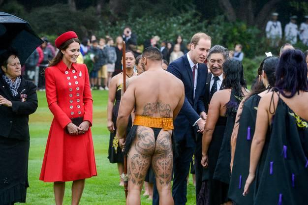 Was die Herzogin wohl denkt?