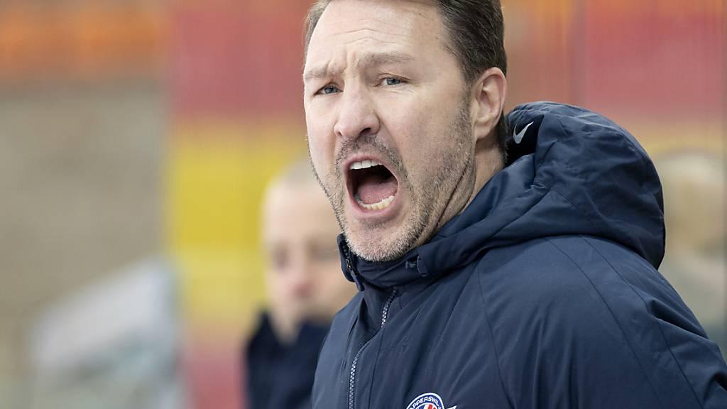 Fehlte den Rapperswil-Jona Lakers am Dienstag in Lugano: der erkrankte Coach Jeff Tomlinson