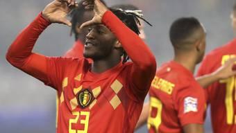 Michi Batshuayi schoss Belgien gegen Island mit einer Doublette zum Sieg