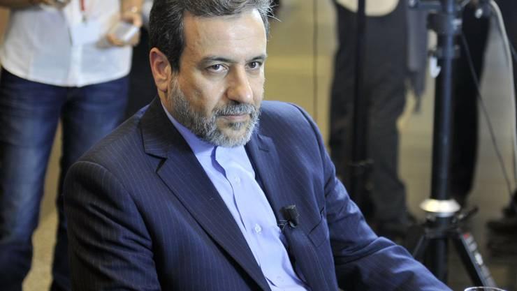 Der iranische Vizeaussenminister Abbas Araghchi ist einer der Architekten des Atomabkommens und bisher Befürworter des Deals. (Archivbild)