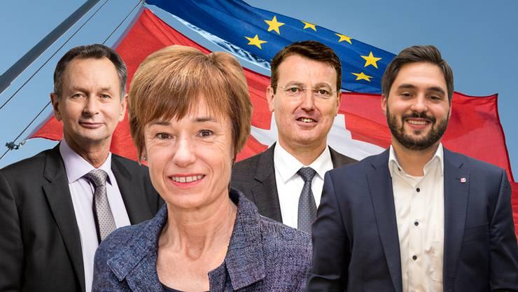 EU Schweiz Rahmenabkommen Aargauer Politiker