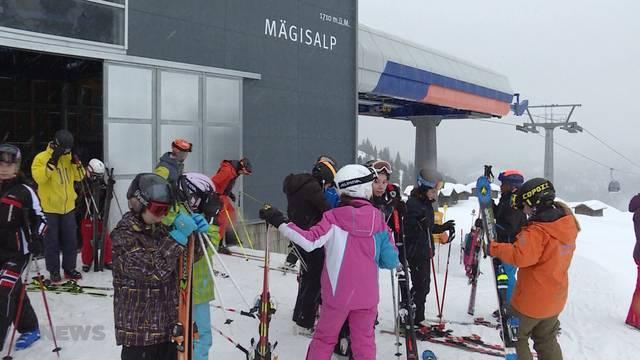 Ansturm auf Skigebiete?