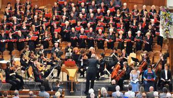 Die Oratorienchöre Olten und Cantica Nova Worb luden am Sonntag zum Sommernachtsfest.