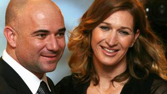 Leben heute in Las Vegas: Steffi Graf und Andre Agassi (Archiv)