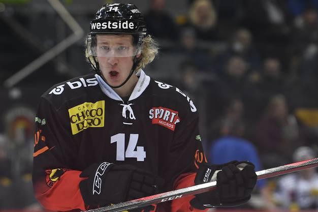 Gerber dürfte beim SC Bern bald eine grössere Rolle spielen und den zu Fribourg abwandernden Kamerzin ersetzen.