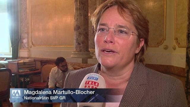 Martullo Blocher regt sich auf