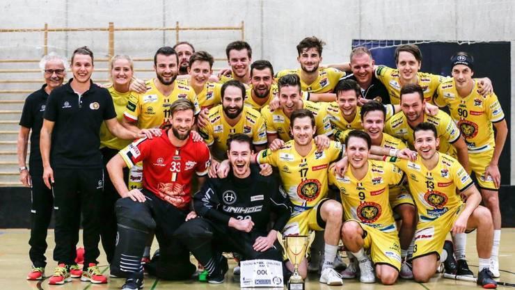 Sieger der Stöckli Unihockey Challenge 2020 - Unihockey Tigers Langnau