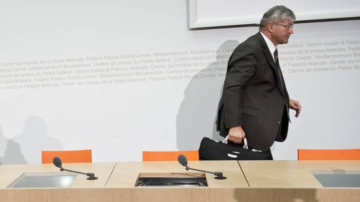 Bruno Zuppiger ist seit seinem Rücktritt aus dem Nationalrat aus der Öffentlichkeit verschwunden.