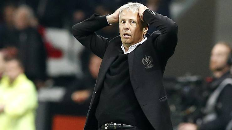 Kassierte mit Nice die dritte Niederlage in dieser Ligue-1-Saison: Lucien Favre