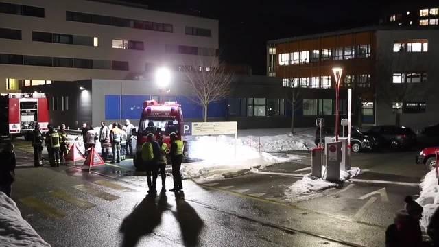 Spital in Sitten wegen Rauch evakuiert