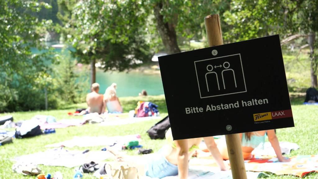 Caumasee: Flims beschränkt Besucherzahl auf 2000 pro Tag