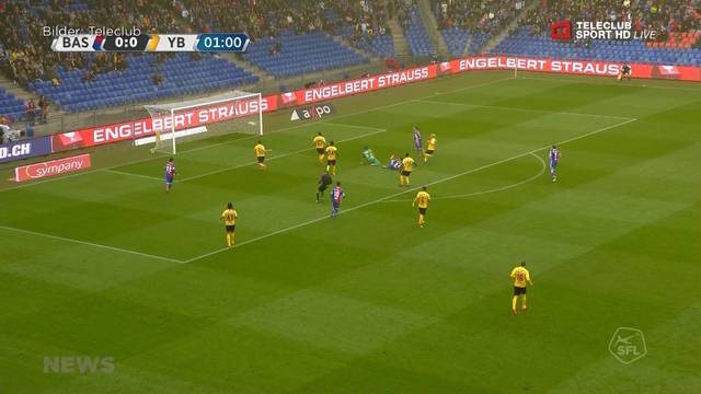 Die meisterlichen Young Boys spielen gegen den FCB