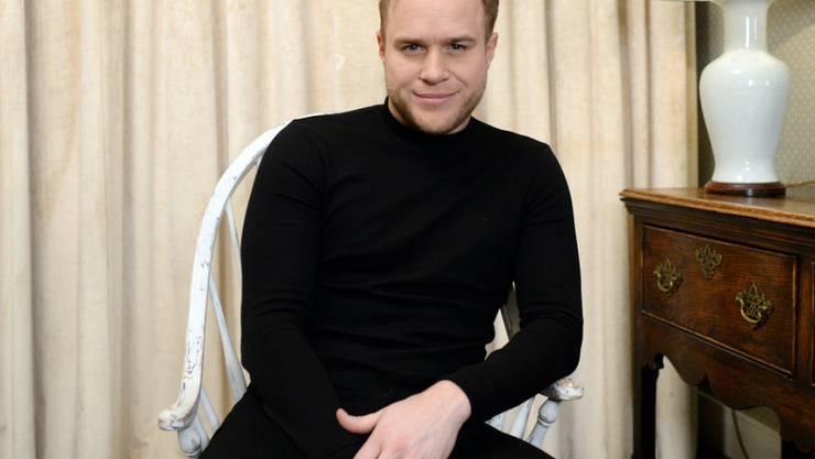 Musik und Muskeln: Sänger Olly Murs verbringt viel Zeit in seinem Fitnesscenter.