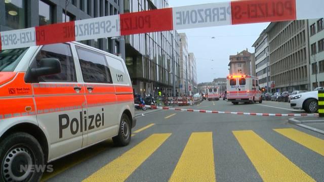 Bluttat mitten in Zürich