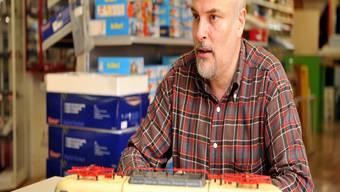 Im Laden von Philippe Wenger dreht sich alles um eines: Modelleisenbahnen.