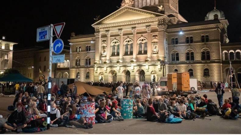 Berner Stadtregierung stellt Klimaaktivisten ein Ultimatum