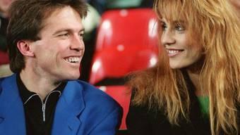 Foto aus glücklichen Zeiten: Lothar Matthäus und Lolita Morena (Archiv)