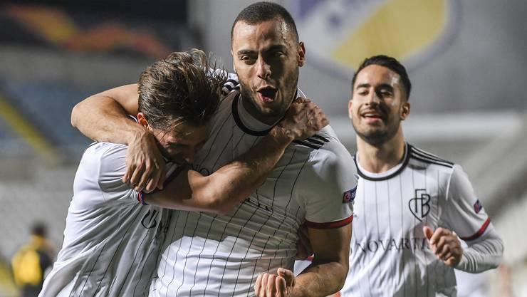 Arthur Cabral trifft regelmässig für den FCB.