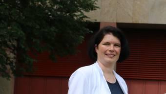 Priska Grünig, Chefärztin der Medizinischen Klinik am Gesundheitszentrum Fricktal, wurde für ihr Engagement in der ärztlichen Weiterbildung ausgezeichnet.