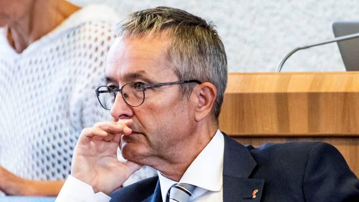 Der vorgesetzte Regierungsrat Thomas Weber (SVP) sträubte sich, als das Kiga Strafanzeige einreichen wollte. (Archivbild)