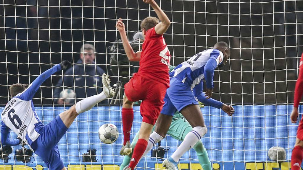Bayern glückt Rückrunden-Auftakt in Berlin