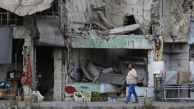 Jahrelanger Krieg in Syrien hinterlässt ein Bild der Zerstörung. (Themenbild)