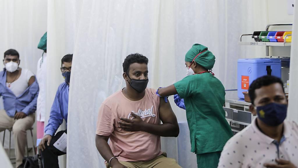 Neuer Corona-Rekord in Indien: 184 000 Infektionen an einem Tag
