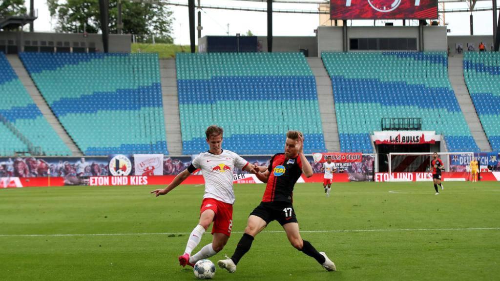 Hertha punktet auch in Leipzig - Zuber trifft für Hoffenheim
