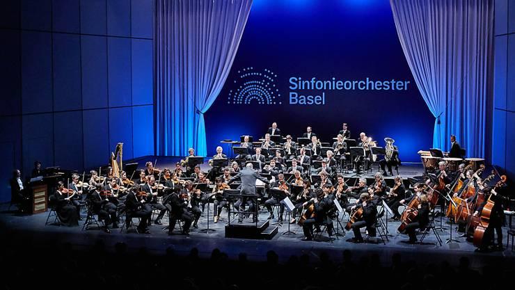 Das Sinfonieorchester Basel muss nur noch eine Saison im Exil verbringen, etwa im Musical Theater Basel. Ab Sommer 2020 tritt es dann im renovierten Musiksaal des Basler Stadtcasinos auf. (Archivbild)