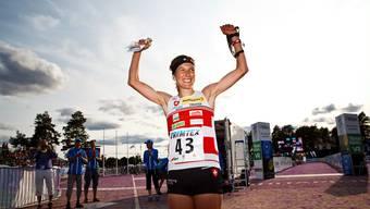 Simone Niggli gewinnt WM in Finnland (2013)