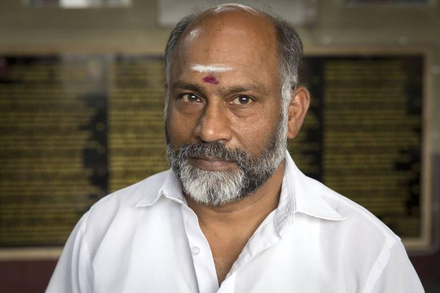 Ganeshakumar kommt ursprünglich aus Sri Lanka und wohnt heute in Marbach. / Peter Käser