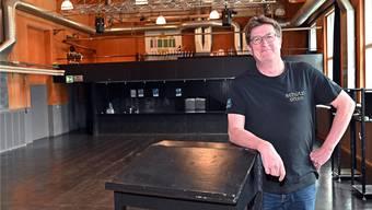 Thomas Knapp ist seit Anfang Jahr Geschäftsleiter der Schützi, der Oltner Multikulti-Spielstätte schlechthin.