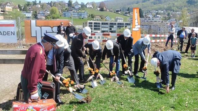 Die grosse Chance für Baden: Spatenstich für das neue Thermalbad