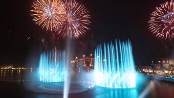 Dubai hat nun auch die höchste Fontäne der Welt.