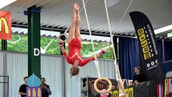 Mannschafts-Meisterschaften des Geräteturnens in Aarau