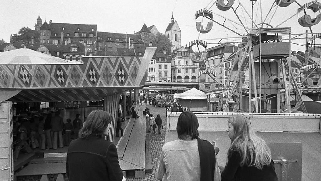 Basler Herbstmesse anno 1975.