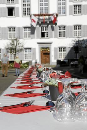 Der «Lange Tisch» beschliesst die Genusswoche in Liestal.