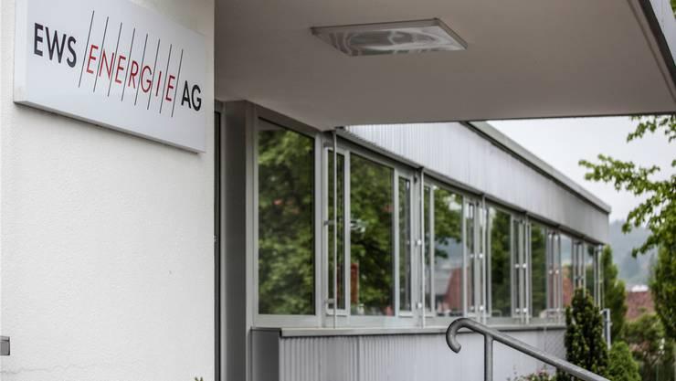Die EWS Energie AG.