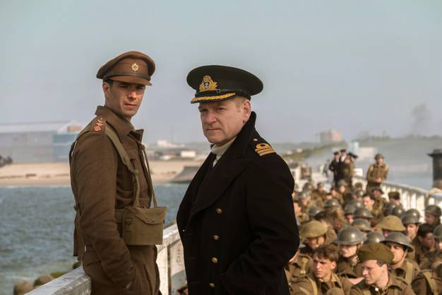 «Dunkirk»: Kenneth Branagh spielt den Commander Bolton, den «Pier Master», der das Verladen koordinierte. Sein historisches Vorbild war Commander Clouston.