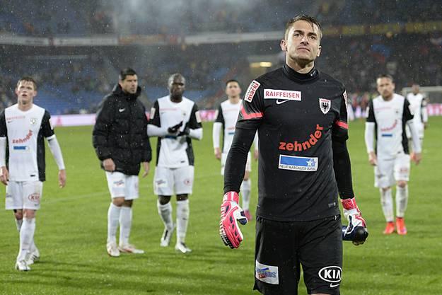 Goalie Joël Mall ist noch der Beste
