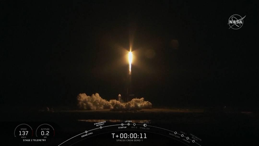 Elon Musks Raumschiff ist gestartet